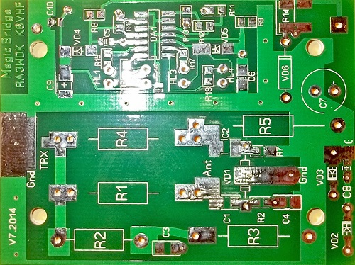 New PCB v 7.0 for Magic Bridge